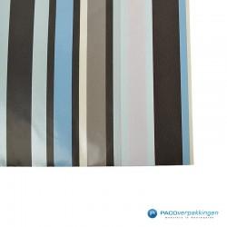 Papieren zakjes - Strepen gekleurd - Nr.924 - Detail