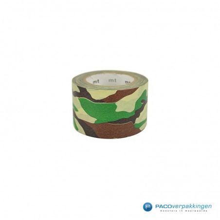Washi Tape Mt - Camouflage