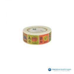Masking Tape Mt - Kids - Alphabet A-M - Vooraanzicht