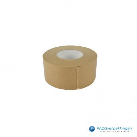 Papier tape K60 - Bruin - Gegommeerd
