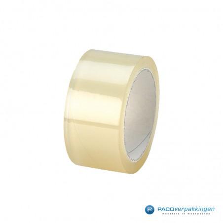 Verpakkingstape - Transparant - Dubbele lijmlaag