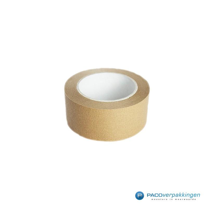 Papier tape - Bruin - Vooraanzicht