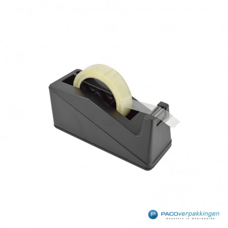 Tape dispenser - Toonbank grote kern - Zwart