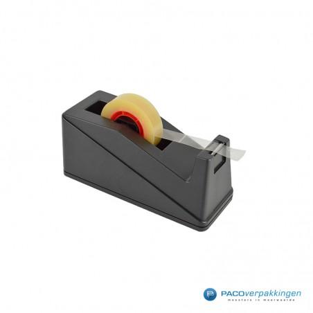 Tape dispenser - Toonbank kleine kern - Zwart