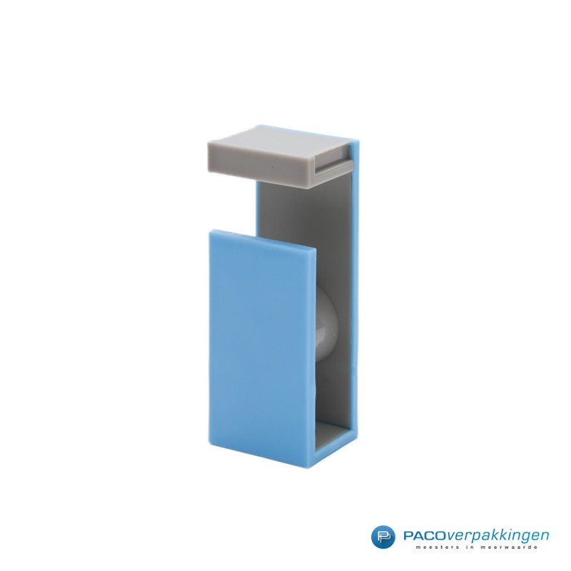 Masking Tape Magnetic Cutter - 2Tone - Blue X Gray - Zijaanzicht