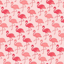 Inpakpapier - Flamingo - Roze (Nr. 601695/3) - Close-up