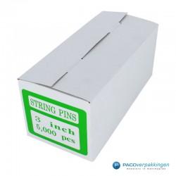 Veiligheidssluiting - 3 Inch - Transparant - Verpakking