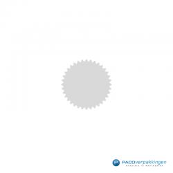 Stickers ster - Zilver Mat - CloseUp