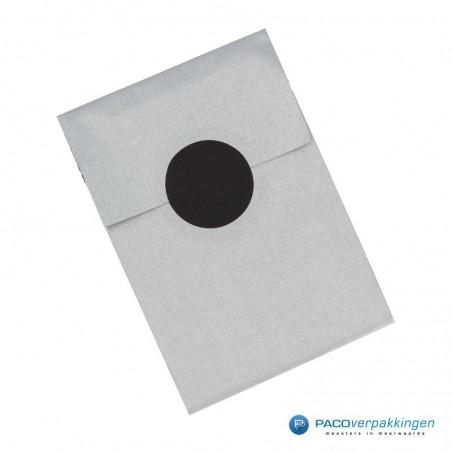 Sluitstickers - Zwart Mat