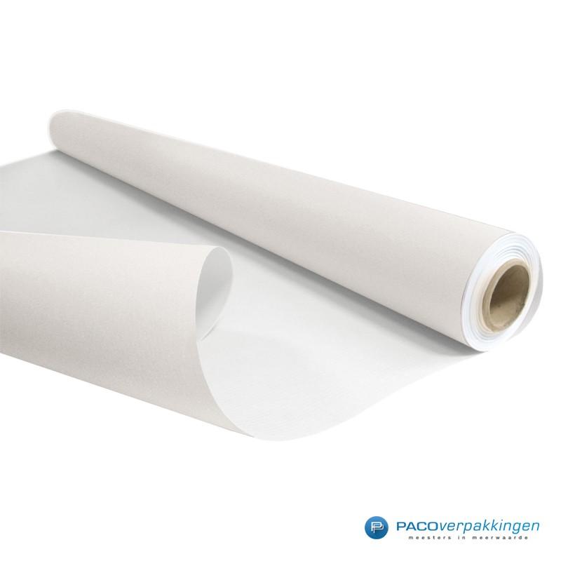 Inpakpapier - Effen - Wit kraft - Budget - Op rol