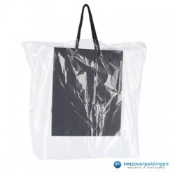 Raincover voor draagtassen - 25 MU - Transparant - Vooraanzicht