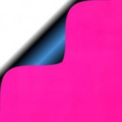 Inpakpapier - Effen - Glossy - Oranje en Blauw (Nr. 5108) - Close-up