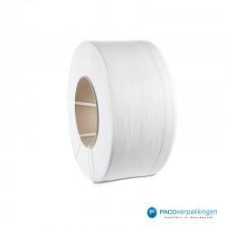 Omsnoerband - Wit - PP - Standaard - Vooraanzicht3