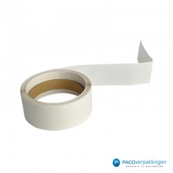 Vierkante stickers - Transparant - Rol