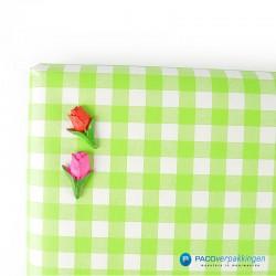 Plakdecoratie - Tulpen - Roze en Rood - Gebruik