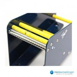 Stickers dispenser 2 rollen - Blauw - Detail