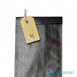Houten knijper - Roze - Op een zakje