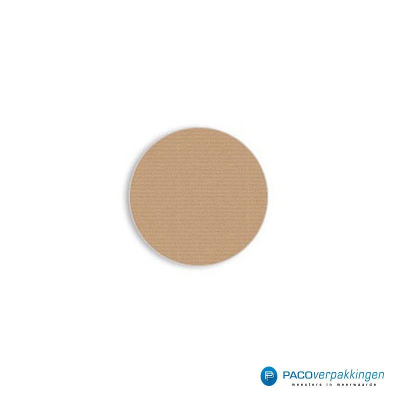 Stickers rond - Bruin - Vooraanzicht