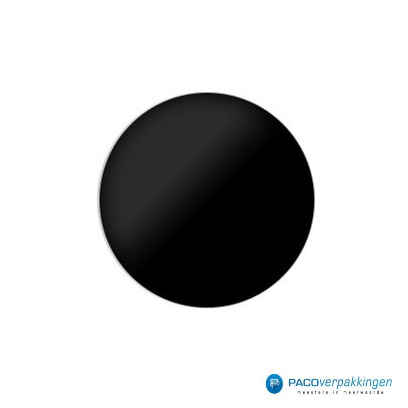 Stickers rond - Zwart - Vooraanzicht