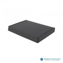 Brievenbusdozen - A5 - Zwart mat (voor Luxe Magneet Brievenbusdoos) - Zijaanzicht