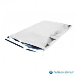 Verzendzakken - A3 - Zilver Glans - Luxe - Zijaanzicht