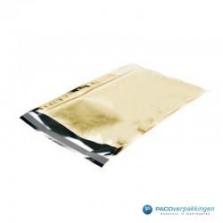 Verzendzakken - A4 - Goud Glans - Luxe - Zijaanzicht