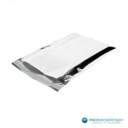 Verzendzakken - A4 - Zilver Glans - Luxe - Zijaanzicht