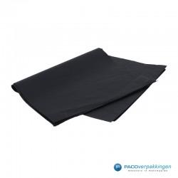 Zijdepapier - Zwart - Zijaanzicht 1