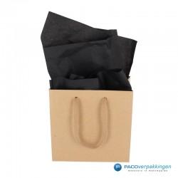 Zijdepapier - Zwart - Toepassing