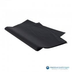 Zijdepapier - Zwart - Zijaanzicht
