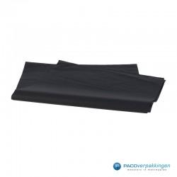 Zijdepapier - Zwart - Vooraanzicht 1