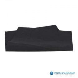 Zijdepapier - Zwart - Vooraanzicht