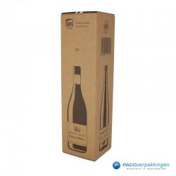 Verzenddoos - Wijndoos - 1 fles - Hoofdafbeelding