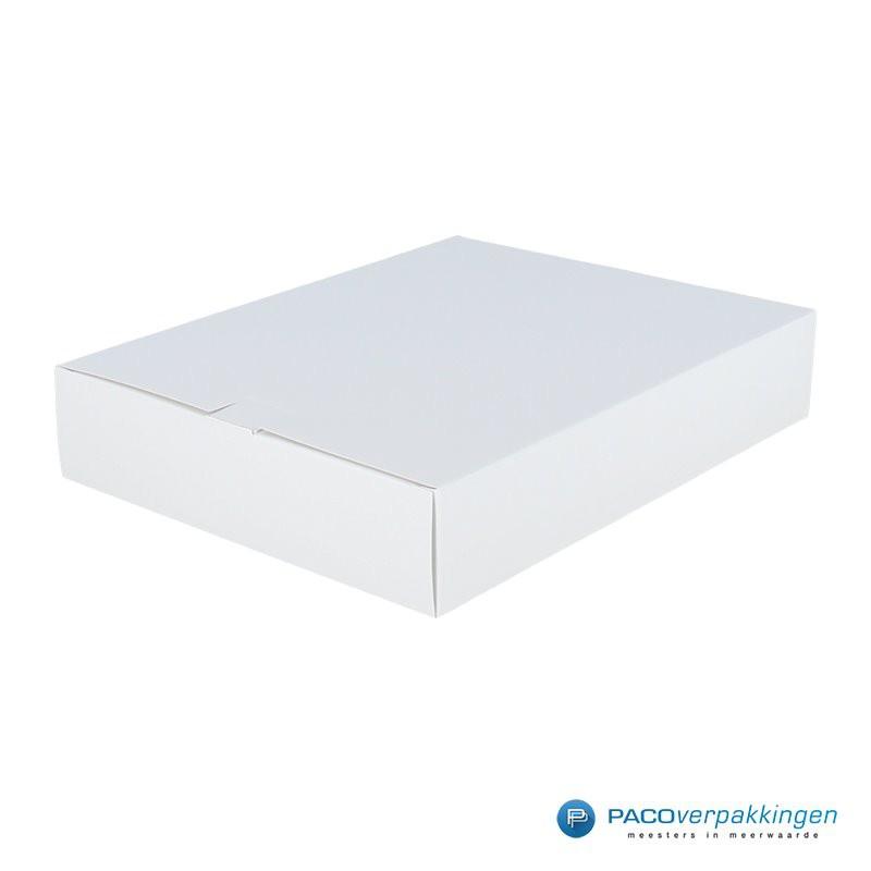 Geschenkdoos met zijsluiting - Wit - Hoofdaanzicht