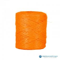 Jute touw - Oranje - Vooraanzicht