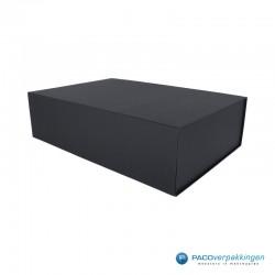 Magneetdoos - Zwart Mat - Premium - Zijaanzicht