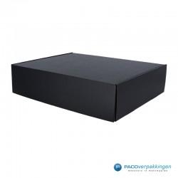 Postdozen met klepsluiting - Zwart mat - A3 - Hoofdafbeelding