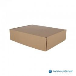 Postdozen met klepsluiting - Bruin - A4 - Hoofdafbeelding