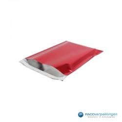 Verzendzakken - A4 - Rood Glans - Luxe - Hoofdafbeelding