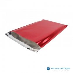 Verzendzakken - Rood Glans - Luxe - Hoofdafbeelding