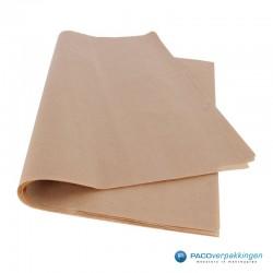 Kraftpapier vellen - Bruin - Zijaanzicht