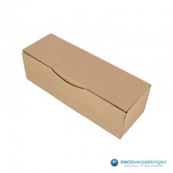 Postdozen met klepsluiting - Bruin - Enkelgolf - Basic - Hoofdafbeelding