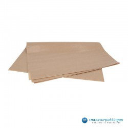 Kraftpapier vellen - Bruin - Opgevouwen