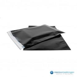 Cadeauzakjes folie - Zwart glans - Hoofdafbeelding