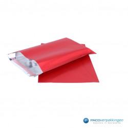 Cadeauzakjes folie - Rood Mat - Hoofdafbeelding