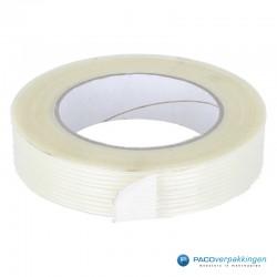 Verpakkingstape - Transparant - Dubbele lijmlaag - Rol