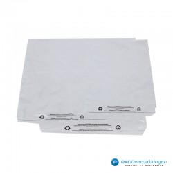 LDPE zakken met kleefstrip - A4+ - Transparant - Recycle-combi