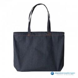 Denim tassen - Donkerblauw