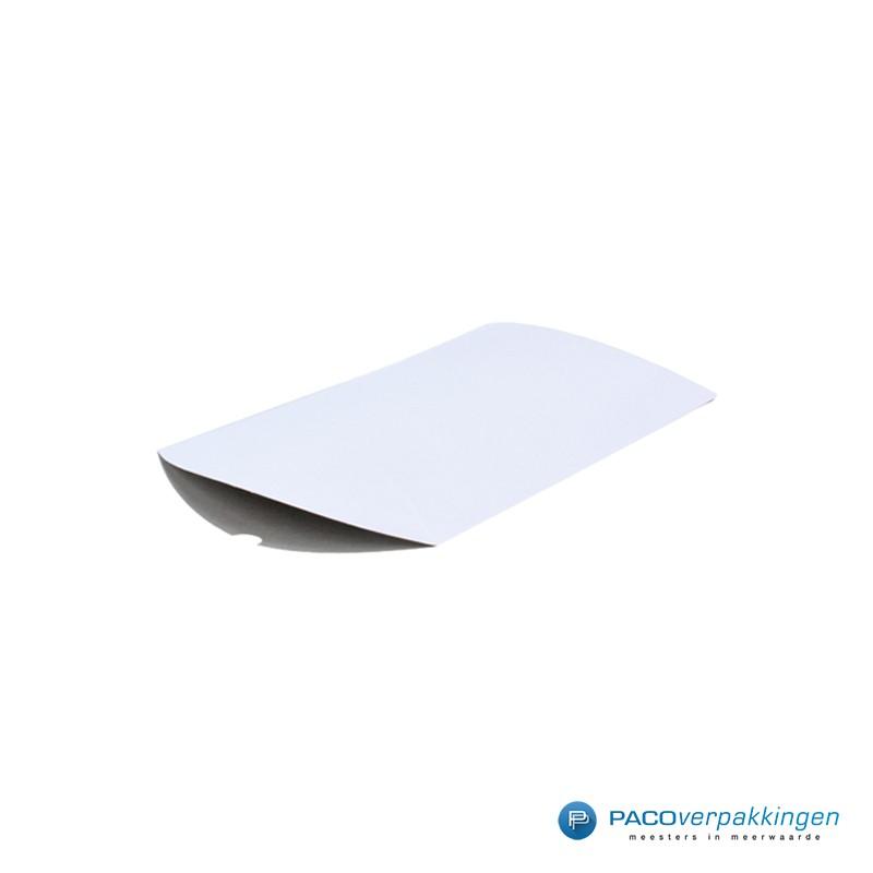 Gondeldoos - Wit Glans-zijaanzicht