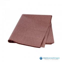Zijdepapier - Chocoladebruin-voorkant